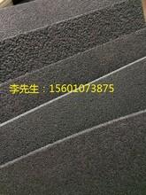 单面凹发泡减震橡胶垫图片