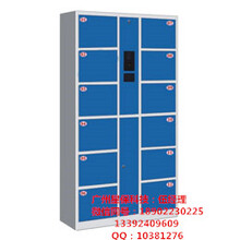 12门条码电子存包柜价格是多少钱,广州星保便宜。图片