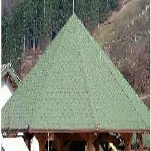 达州与众不同的彩色沥青瓦屋面建筑玻纤瓦图片