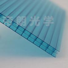 批发透明三层10mm阳光板尺寸可定做图片