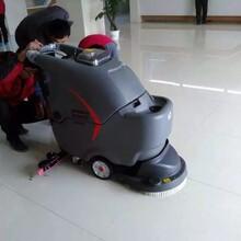 滨州工厂用洗地机扫地车淄博高美洗地机地面清洁机