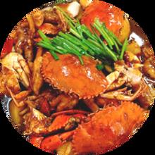 谷师傅肉蟹煲,招牌肉蟹煲煲系列