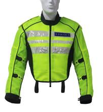 超凉爽透气交警夏季户外骑行夹克耐磨尼龙安全高端款骑行服图片