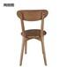 白茬Y字椅椅子现代简约北欧创意日系叉骨椅洽谈办公椅餐椅候宾椅