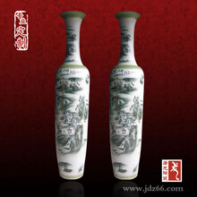 景德镇3米陶瓷大花瓶厂家,落地陶瓷花瓶