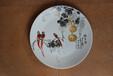 陶瓷紀念盤禮品定制廠家大師手工繪制紀念盤定制
