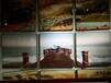 湖南装饰画工厂家居三联画客厅画玄关画找代理加盟