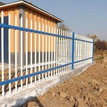 鋅鋼圍墻護欄-別墅院子圍墻護欄圖-小區圍欄-水泥圍墻欄桿-小區護欄