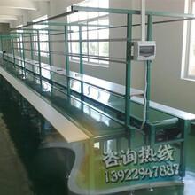 东莞电子厂常用的生产流水线双皮带流水线双向生产线图片