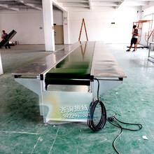 耐用的不锈钢工作台板流水线粘胶水生产线不锈钢装配线图片