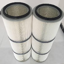 厂家生产聚酯纤维无纺布除尘滤芯320500图片