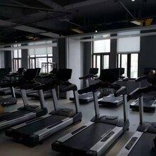 酒店单位跑步机安徽萧县健身房器材供应图片
