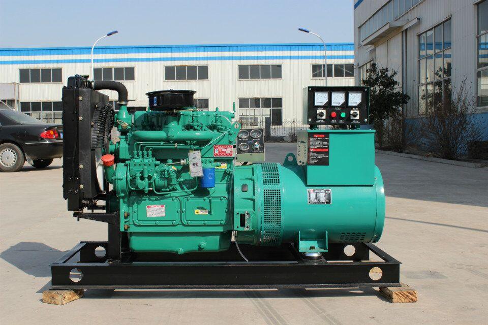 潍坊75KW千瓦柴油发电机组全铜发电机R6105ZD养殖