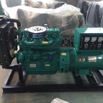 潍柴30KW25KW75KW柴油发电机组50KW柴油发电机静音箱拖车小型家用节能发电机