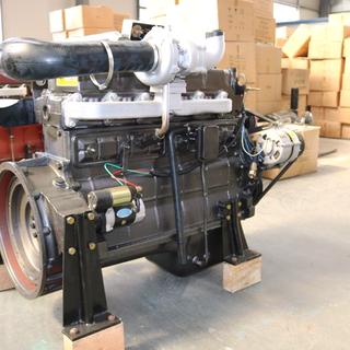 潍柴康明斯上柴120KW柴油发电机组R6105AZLD柴油机厂家供应全铜无刷电机图片3