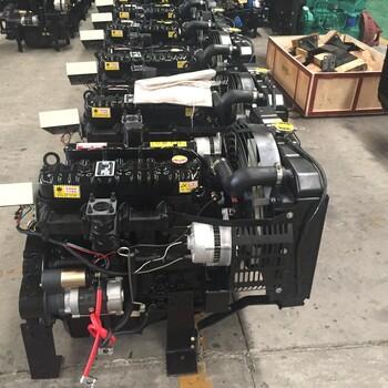 柴油机组带皮带轮水冷柴油发电设备38kw柴油机52马力发电机组