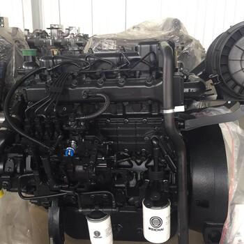 潍柴wp4.1d66e200发动机价格50千瓦潍柴发电机组扬柴1500转机械泵