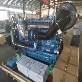 潍柴动力博杜安潍柴600KW柴油发电机组潍柴大功率柴油机图片3