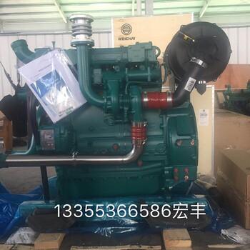 正宗潍柴道依茨发动机80千瓦柴油发电机组纯铜无刷电机价格