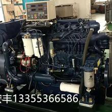 潍柴船机柴油机型号WP6CD132E200配套兰电发电机90千瓦价格图片