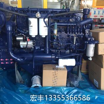 现货供应WP12C系列潍柴船用主机WP12C450-21发动机船机价格