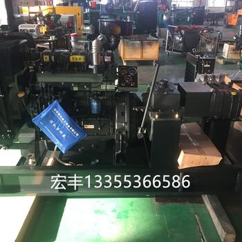 50千瓦潍坊ZH4105柴油高压清洗泵机组