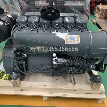 道依茨50千瓦風冷發電機組北內道依茨柴油機F6L912T六缸增壓