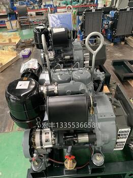 小功率風冷道依茨發電機12千瓦F2L912兩缸柴油機
