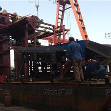 江苏淘金船价格链斗式淘金船淘金船厂家行情