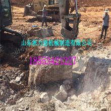 诸暨液压岩石劈裂机用于冶炼拆除工程