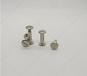 非标铆钉菜谱螺丝定制不锈钢304本色手拧M5公母对锁菜谱螺丝
