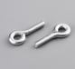 镀白锌吊环螺丝圆环起重螺丝活节船用锁具