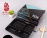 禾之冠一次性饭盒外卖快餐盒商务打包盒四格