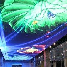 led弧形屏,led球形屏,led曲面屏,led显示屏定做