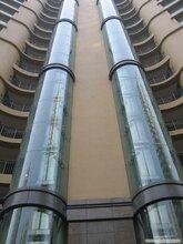江苏无机房玻璃观光电梯弧形观光别墅观光电梯