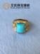 绿松石镶嵌,绿松石戒指,珠宝个性镶嵌