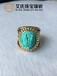 绿松石镶嵌,绿松石复古款戒指,珠宝定制,首饰个性设计
