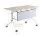 折叠会议桌培训会议两用桌学生学习折叠课桌椅批发厂家