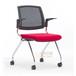 培训中心椅子办公区可重叠会议椅价格多功能会议椅