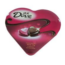 供应德芙巧克力铁盒巧克力饼干铁盒专业定制