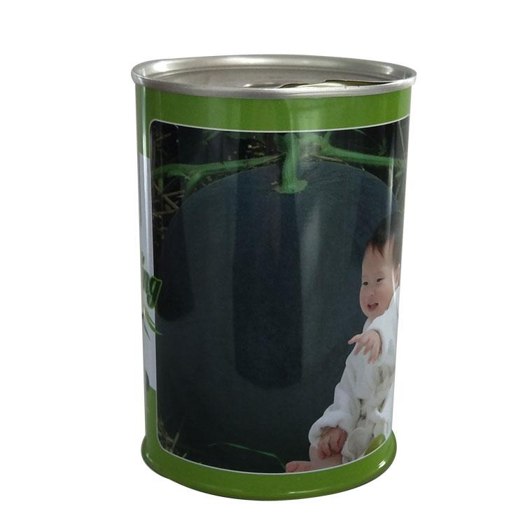 黑皮西瓜種子罐無籽西瓜鐵罐易拉蓋鐵盒專業定制
