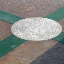 迪庆印模混凝土图片考察兰州枫彩图片