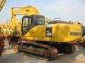 精品小松220-7二手挖掘机市场,三大件免检保修图片