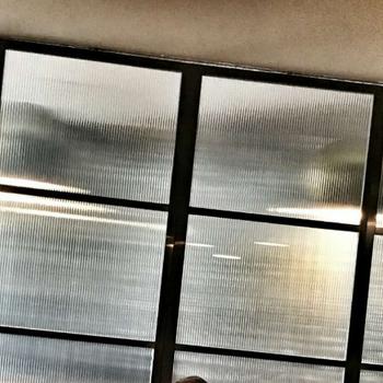 隔断新材料ps透明柱镜光栅板