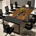 办公家具办公桌板式长方形大型会议桌长桌简约现代洽谈桌椅组合