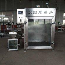 全自动烟熏炉香肠腊肠加工成套设备烟熏炉价格生产厂家图片