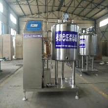 自動鮮奶殺菌罐,鮮奶巴氏殺菌機,奶吧專用殺菌機圖片