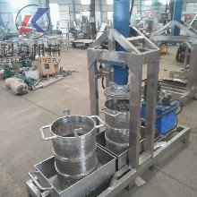 热销优质全自动液压压榨机单桶收汁压榨机实体厂家直销1图片