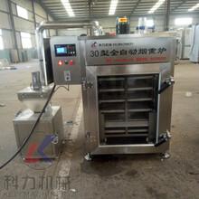 烟熏腊肉的机器香肠腊肠蒸煮烘干机烟熏炉厂家价格图片