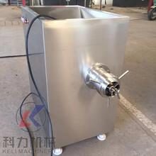 kl--100型全自动冻肉绞肉机实体厂家直销1图片